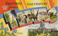 Postcard Galveston